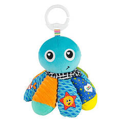 М'яка іграшка-підвіска Lamaze Восьминіг з пискавкою і дзеркальцем (L27514)