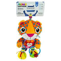 М'яка іграшка-підвіска Lamaze Леопардик муркоче (L27563)