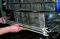 Замена масляного радиатора