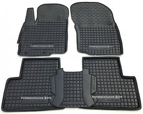 Поліуретанові (автогум) килимки в салон Hyundai Ioniq (electric) (2021) / Хюндай Ионик Електрик
