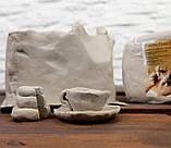 """Біла глина для творчості """"ПР"""" 3 кг - натуральна біла глина, каолінова глина для ліплення, фото 3"""