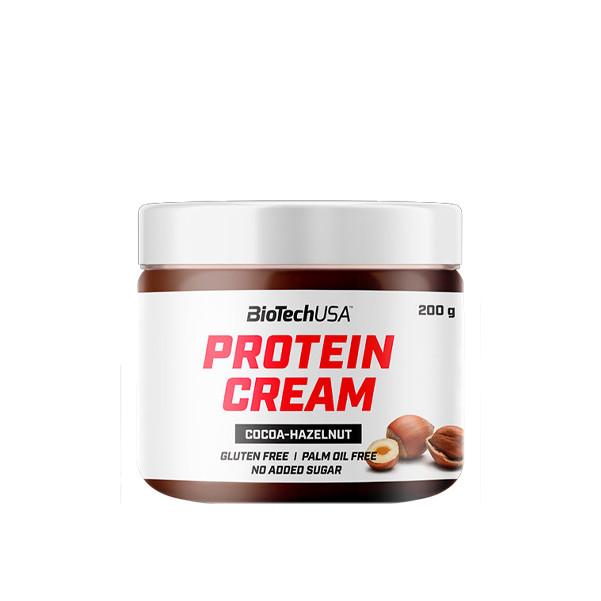 Замінник харчування BioTech Protein Cream, 200 грам Какао-фундук