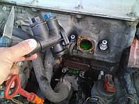 Замена фланца системы охлаждения