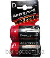 Батарейка Energycell Heavy Duty R20 (D, 2шт, миниблистер 12/288)