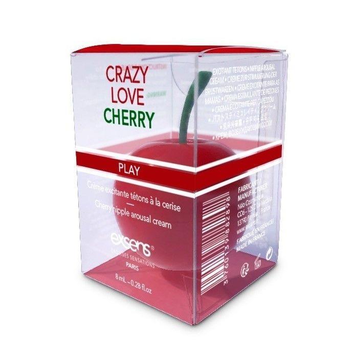 Распродажа! Возбуждающий крем для сосков EXSENS Crazy Love Cherry (8 мл) (срок годности 12.2021)   18+