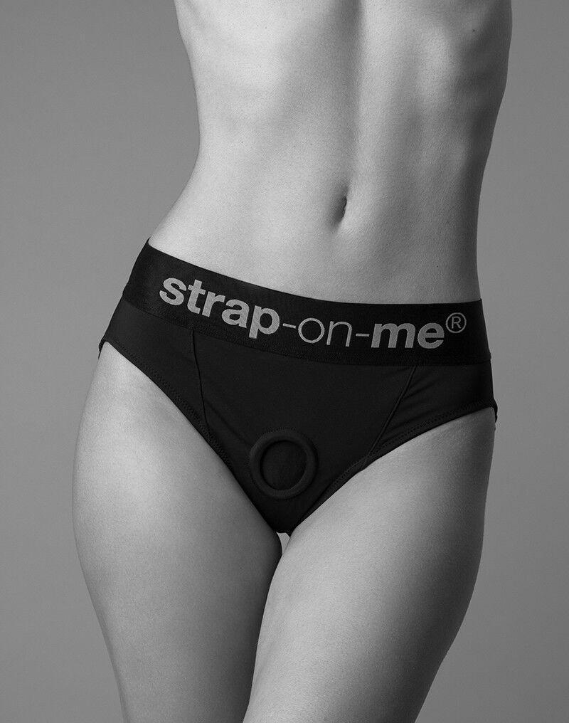 Труси-стрінги для страпона Strap-On-Me HEROINE HARNESS - M (сильно пом'ята упаковка) Амур   Доминант