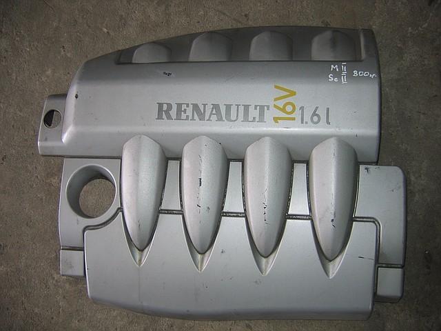 Пластиковая крышка двигателя Renault Megane II, Scenic II