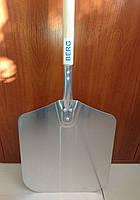 Лопата для пиццы 30,5х35 см, деревянная ручка, длиной 132 см