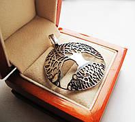 Подвеска серебряная Дерево Жизни(Иггдрасиль)