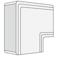 NPAN 80x40 угол плоский белый RAL9001