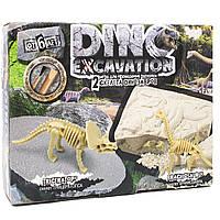 """Набор для проведения раскопок """"Dino Excavation"""" Трицератопс и Брахиозавр"""