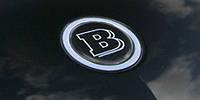 BRABUS логотип капота