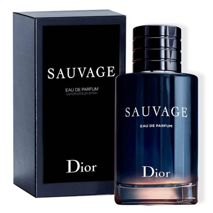 Чоловічі духи Christian Dior Sauvage 100ml EDP Чоловіча парфумована вода (Чоловічі парфуми Крістіан Діор Саваж)