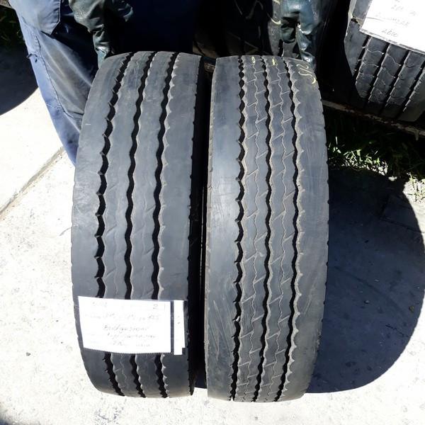 Почти Новые! Шины б.у. 215.75.r17.5 Bridgestone R168 Бриджстоун. Резина бу для грузовиков и автобусов