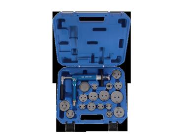Набор инструмента для обслуживания тормозных суппортов (пневматический) KINGTONY 9BC25, фото 2