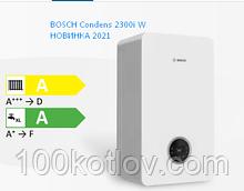 Bosch Condens 2300i W, 24 кВт конденсаційний 2 контурний котел