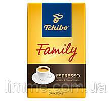 Кофе натуральный молотый Tchibo Family Espresso 250 г