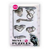 Набор металлических головоломок Mini, фото 1