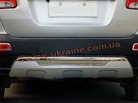 Накладка на бампер задняя KIA Sorento 2009-12