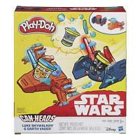 Набор для творчества Hasbro Play-Doh пластилин Транспортные средства Звездные войны (B0001-1)