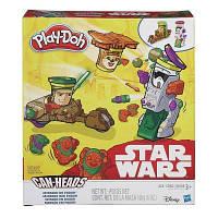 Набор для творчества Hasbro Play-Doh пластилин Транспортные средства Звездные войны (B0001-2)