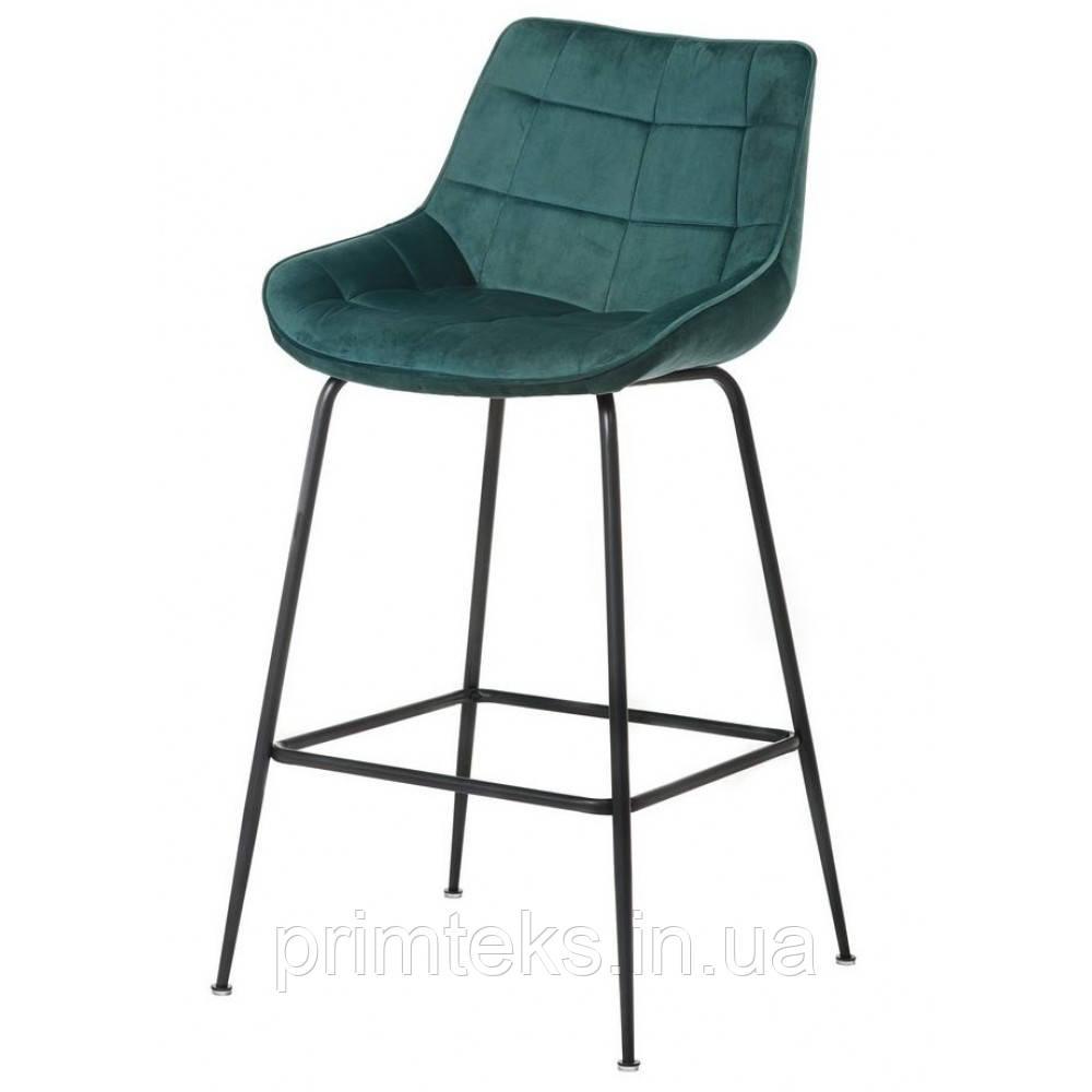 Полубарный стул B-140-1 лазурный
