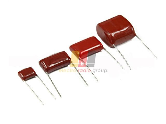 Металлопленочный конденсатор 0,33МкФ, 10%, 63V(CL21)