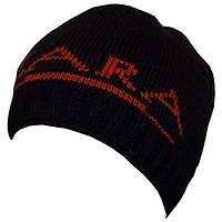 Вязаная мужская шапка (утепленный вариант) спортивного силуэта