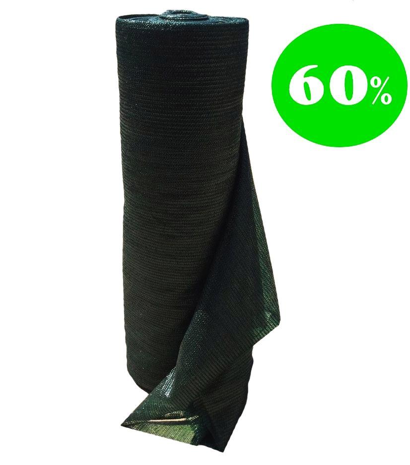 Сітка затінюють 60% Рулон 4х100 м.