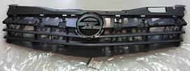 Решётка радиатора (чёрная основа) в полосочку без хрома и без эмблемы GM 1320359 6320115 13241968 13157585 OPEL Astra-H 3 door hatch(хечбэк) ИСКЛЮЧАЯ