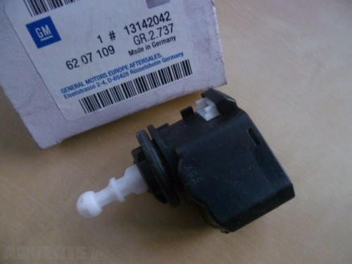 Электродвигатель (сервопривод) регулировки положения фар 25 вт. OPEL ASTRA-H INSIGNIA SIGNUM VECTRA-C