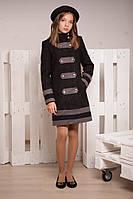 Демисезонное пальто для девочки подростка (р.36)