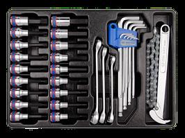 Комплект инструментов в лотке 31 пр KINGTONY 9-90131MR