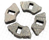 Демпферная резинка заднего литого колеса (к-кт 4шт) JD ТКАНЕВЫЕ