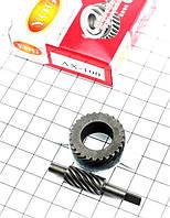 Шестерня привода спидометра (комплект-2шт) Suzuki-AX100