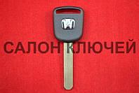 Ключ Honda Accord, Civic, CRV, HRV, Pilot с местом под чип Оригинал вид 1