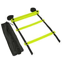Координационная лестница дорожка для тренировки скорости 6м 12 перекладин