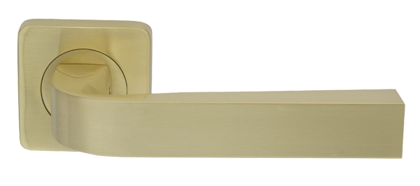Ручки дверные Armadillo KEA SQ001-21SG-1 матовое золото