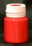 Краска акриловая Кроваво-красный