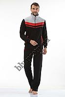 Спортивные костюмы мужские Турция интернет магазин FM15966 Black