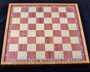 Ігровий набір 3в1нарды шахи та шашки (48х48 см) X-509