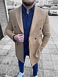 😜 Пальто Чоловіче пальто на осінь \ чоловіче пальто двобортне, фото 2