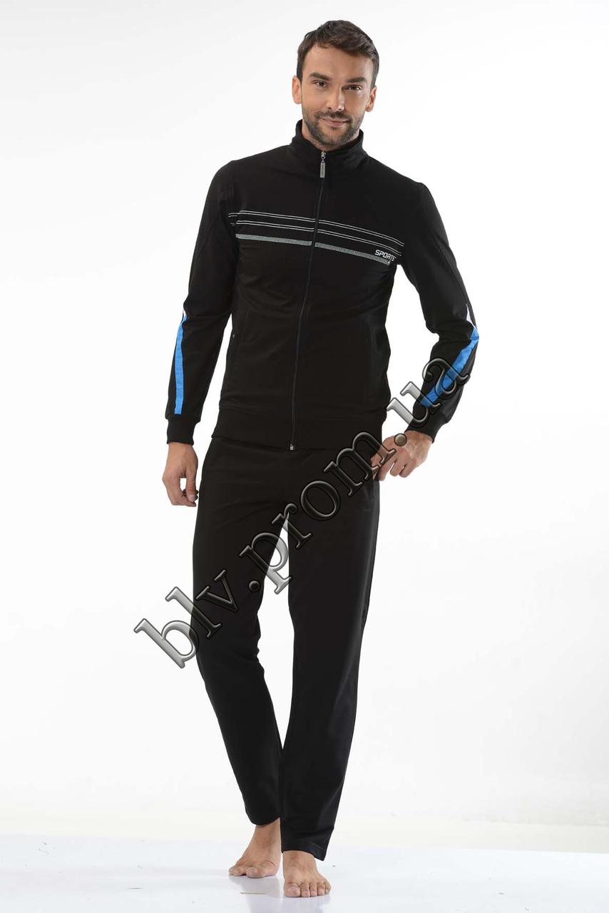 Спортивные костюмы мужские недорого интернет магазин доставка бесплатная пр-во Турция FM15955 Dark blue
