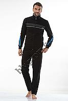 Спортивный костюм мужской купить оптом качественный пр-во Турция FM15955 Dark blue