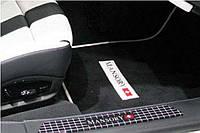Накладки на пороги с логотипом и подсветкой