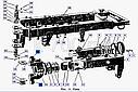 Втулка трубы шарнира К-700, фото 2
