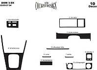 Накладки на панель BMW E 30 (86-94)