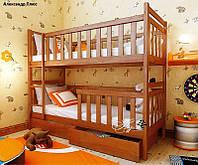 Кровать двухъярусная трансформер Александр Плюс  80х160