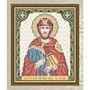 """Рисунок на ткани для вышивания бисером  """"Святой Благоверный Князь Ростислав"""""""
