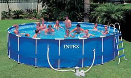 Бассейн для всей семьи 549*122см Intex 54952